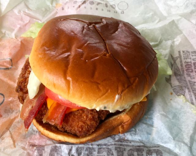 Burger King Bacon Cheddar Ranch Crispy Chicken SandwichReview