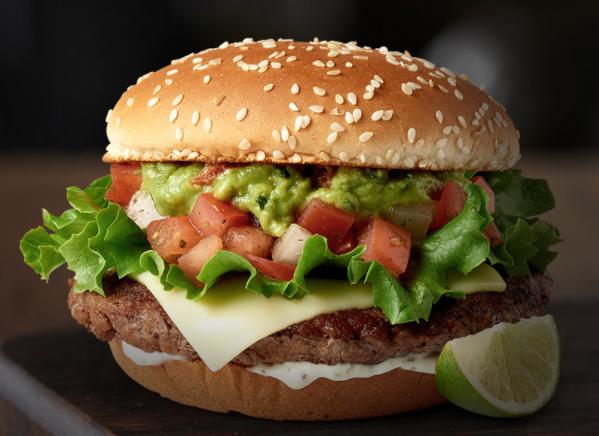 McDonald's Signature Crafted Recipes: Pico GuacamoleBurger