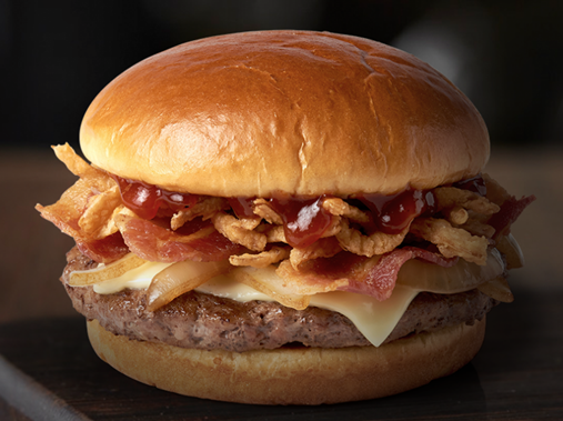 McDonald's Signature Crafted Recipes:  Sweet BBQ Bacon