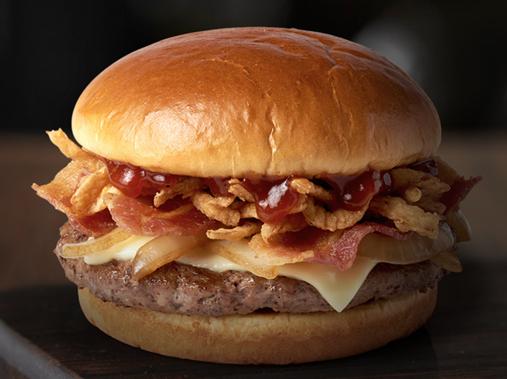 McDonald's Signature Crafted Recipes:  Sweet BBQBacon